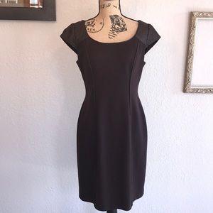 Kay Unger Brown Sheath Dress Size 10